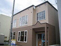 北海道札幌市白石区本通11丁目南の賃貸アパートの外観