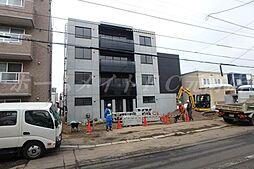 北海道札幌市東区北二十三条東6丁目の賃貸マンションの外観