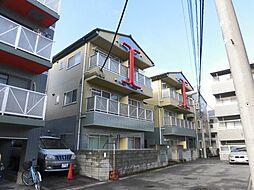 神奈川県川崎市中原区上新城1の賃貸マンションの外観