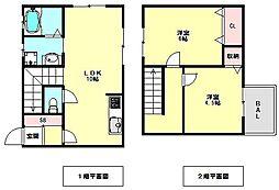 [一戸建] 兵庫県神戸市須磨区須磨浦通5丁目 の賃貸【/】の間取り