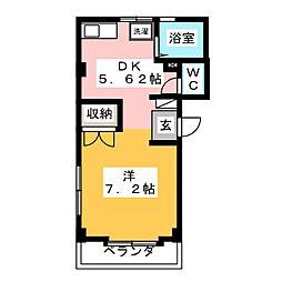 サンハイツ寿[2階]の間取り