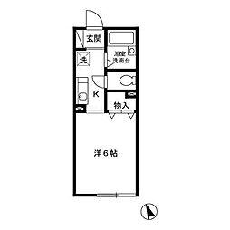 ウィンヒル373[1階]の間取り