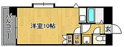 Kステーション八田(初期費用オトクプラン)[701号室]の間取り