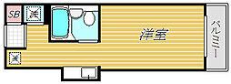TOPお花茶屋第3[4階]の間取り