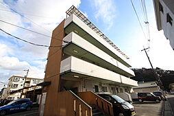 コーポ谷岡[3階]の外観
