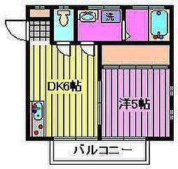 乙葉ハウス[1階]の間取り