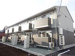 青森県八戸市長根2丁目の賃貸アパートの外観