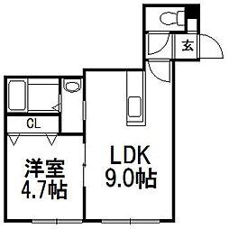 T−STAGE曙[2階]の間取り