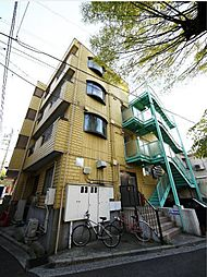 神奈川県横浜市港北区岸根町の賃貸マンションの外観