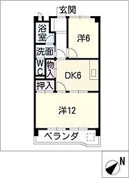 第二白鳳ビル[2階]の間取り