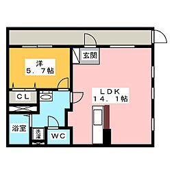 ピアニッシモ2[2階]の間取り