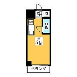 千代田館[3階]の間取り