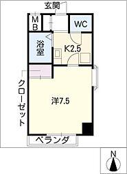 飯田ビル[3階]の間取り