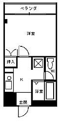 立川ビル[3階]の間取り