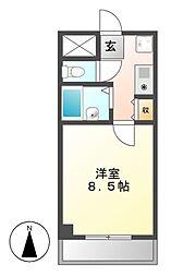 エクセルコジマ2[7階]の間取り
