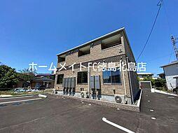 JR徳島線 鮎喰駅 徒歩10分の賃貸アパート