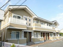 兵庫県姫路市飾磨区今在家3丁目の賃貸アパートの外観