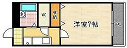 第61長栄エクセレントハイム[103号室]の間取り