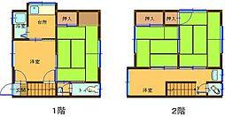 [タウンハウス] 広島県呉市広古新開1丁目 の賃貸【/】の間取り