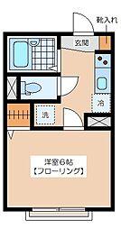 PLAZACOUAT UMEGAOKA[2階]の間取り