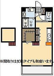 (新築)下北方町常盤元マンション[303号室]の間取り