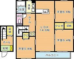 ソラーナ[2階]の間取り