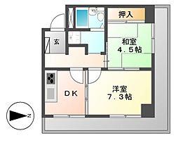 ネオハイツ大須[5階]の間取り