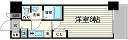 アクアプレイス天王寺Ⅱ[7階]の間取り