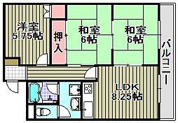 ミノリマンション[A-2号室]の間取り