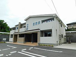 福岡県北九州市若松区花野路1丁目の賃貸アパートの外観