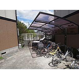 奈良県奈良市学園中3丁目の賃貸アパートの外観