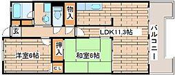 コンフォート西神戸[4020号室]の間取り