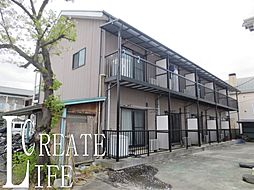 埼玉県さいたま市南区内谷4丁目の賃貸アパートの外観