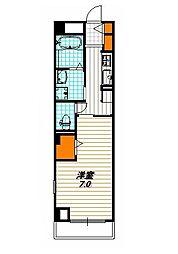 ブーゲンビリア プレイス[2階]の間取り