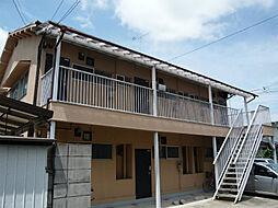 滋賀県近江八幡市日吉野町の賃貸アパートの外観