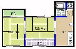 [一戸建] 茨城県ひたちなか市田彦 の賃貸【/】の間取り
