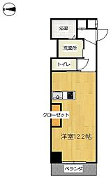 YAMASHO23[3階]の間取り