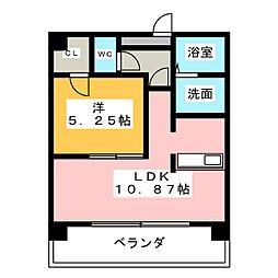 ダイナスティ[2階]の間取り