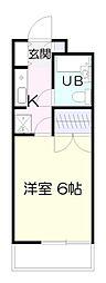 神奈川県川崎市麻生区多摩美1丁目の賃貸マンションの間取り