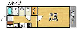 LEE玉出ビル[2階]の間取り