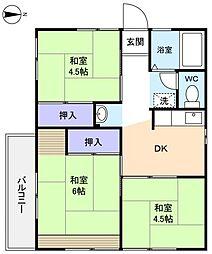 シティハイム八千代A棟[2階]の間取り
