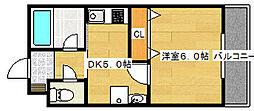 メゾンドール・トキワ[4階]の間取り