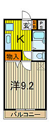 アーケティックマンションIII[306号室]の間取り