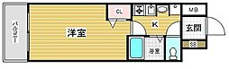 エステムコート神戸元町通[9階]の間取り