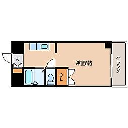 K−2西小倉ビル[11階]の間取り