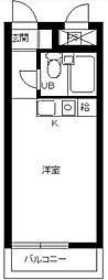 神奈川県相模原市緑区相原2の賃貸マンションの間取り