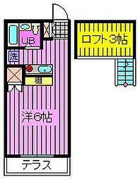 王京ガーデンパレス大宮[1階]の間取り