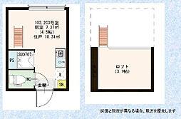 A-CUBE[1階]の間取り