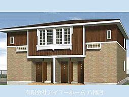 福岡県北九州市若松区片山3丁目の賃貸アパートの外観