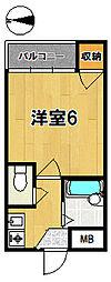 奈良パークヒルズ[2階]の間取り